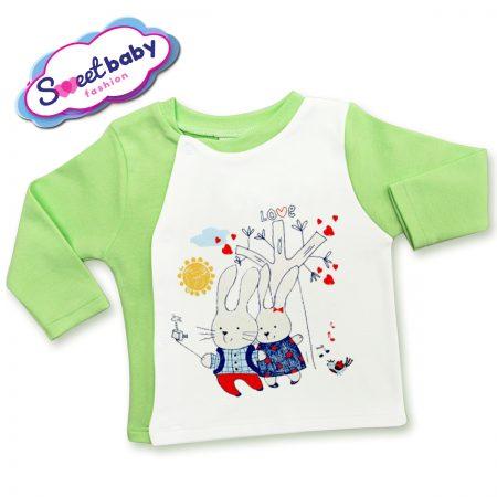 Бебешка жилетка Заешко селфи
