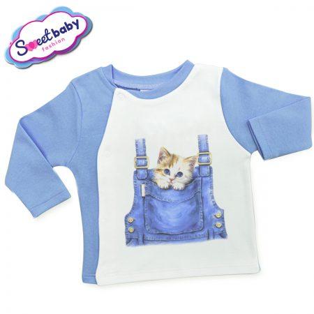 Бебешка жилетка Пухкаво котенце