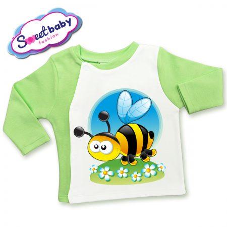 Бебешка жилетка Пчеличка