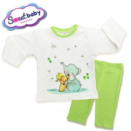Детска пижама Слонче с приятели