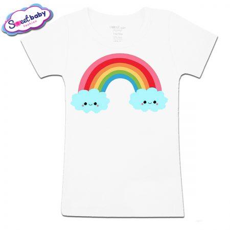 Детска тениска Вълшебната дъга