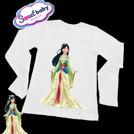 Детска блузка с дълъг ръкав Мулан