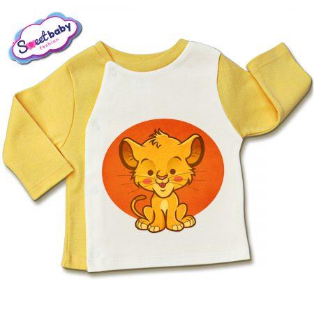 Бебешка жилетка Лъвче