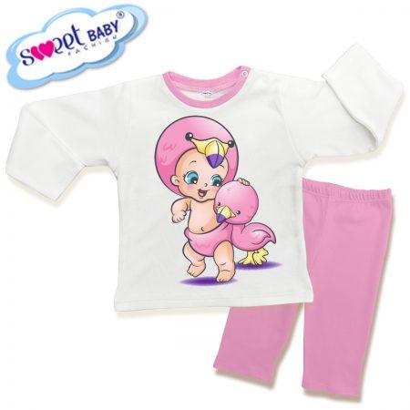 Детска пижама Бебе пате
