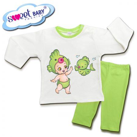 Детска пижама Бебе рибка