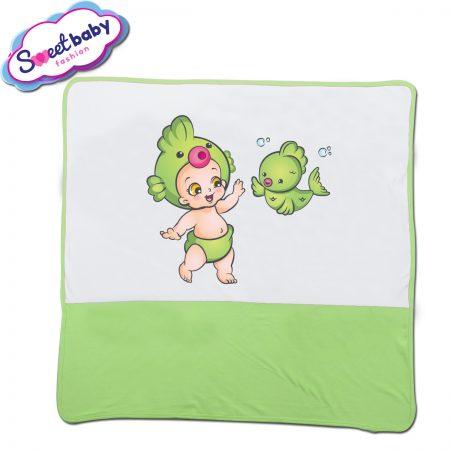 Бебешка пелена Бебе рибка