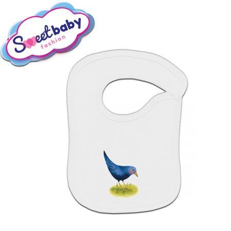 Бебешки лигавник Синьо птиче