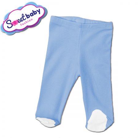 Бебешки ританки в синьо и бяло