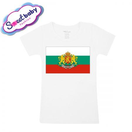 Детска тениска Българско знаме