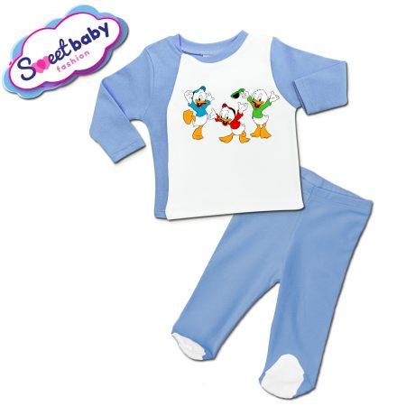 Бебешки сет в синьо Патетата