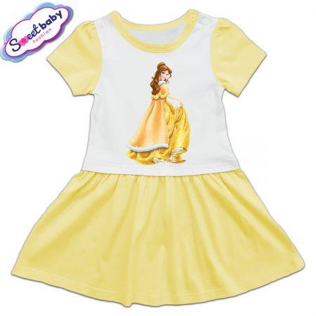 Детска рокличка Бел