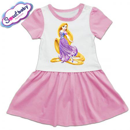Детска рокличка Рапунцел