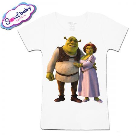 Детска тениска Шрек и Фиона