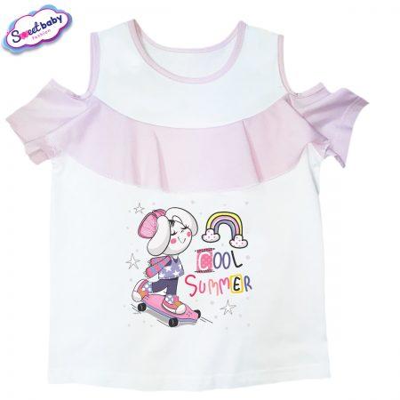 Детска блузка с рязан ръкав Cool-summer