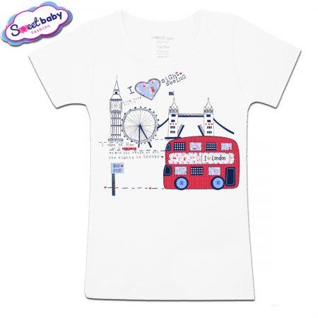 Детска тениска I love London