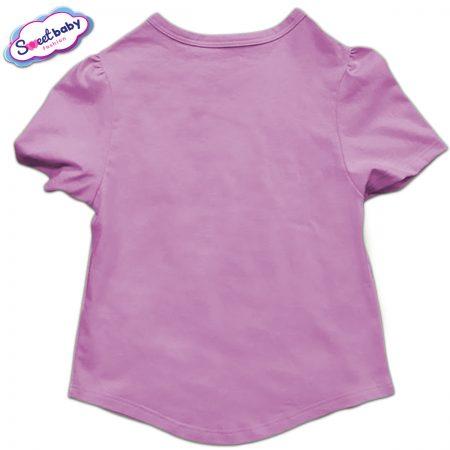 Детска туника в розово гръб