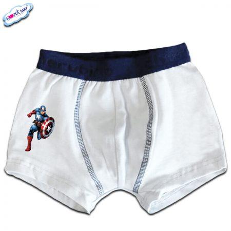 Детски боксерки Капитан Америка
