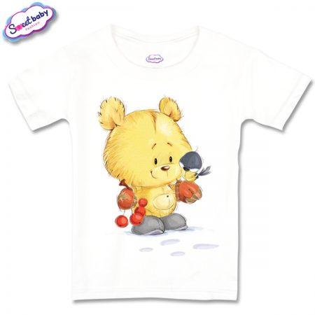 Детска тениска Мече с врабче
