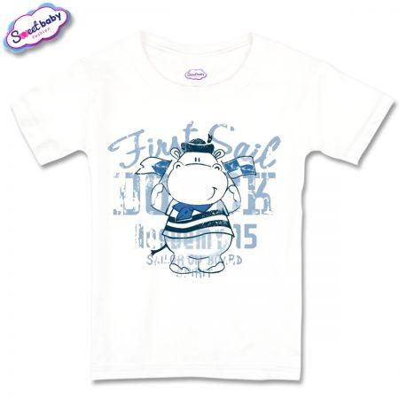 Детска тениска Хипо моряк