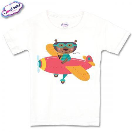 Детска тениска Bear pilot