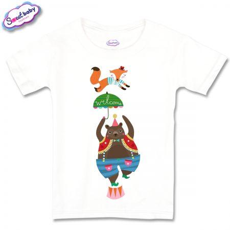 Детска тениска Fox Bear