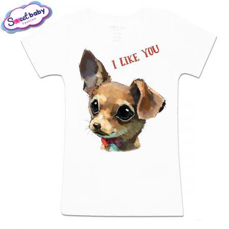Детска тениска I like you
