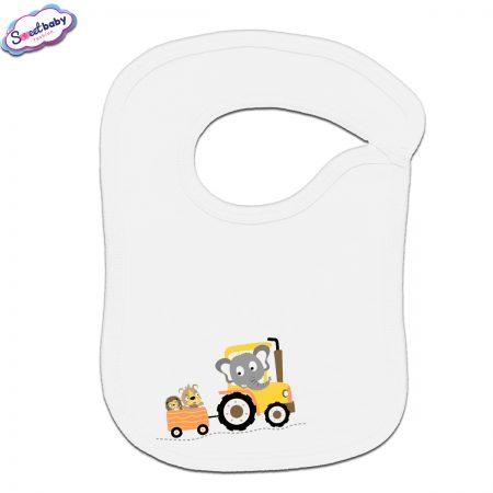 Бебешки лигавник Слонче на трактор