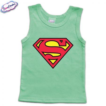 Детски потник в мента Superman