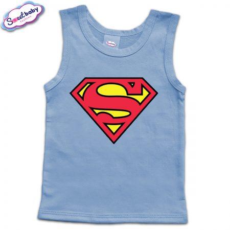 Детски потник в синьо Superman