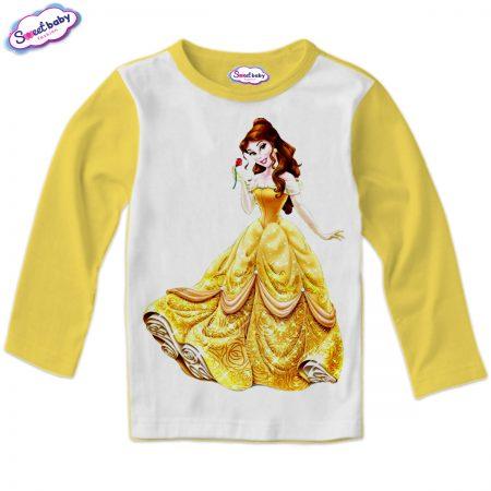 Детска блузка в жълто Бел