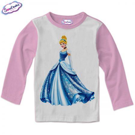 Детска блузка в розово Пепеляшка