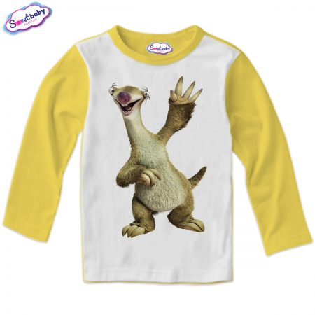 Детска блузка в жълто Сид