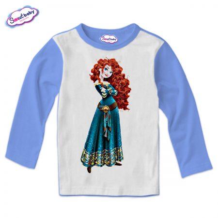 Детска блузка в синьо Мерида