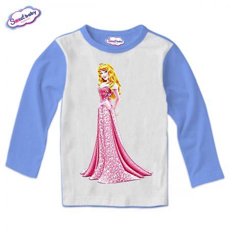 Детска блузка в синьо Спящата красавица