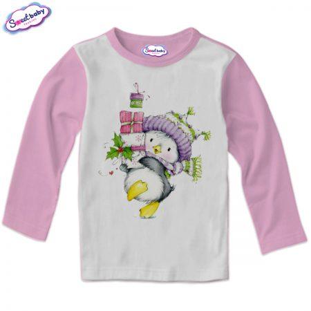Детска блузка в розово Коледни подаръци