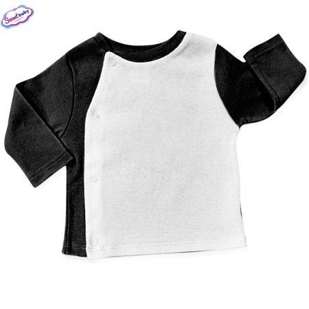Бебешка жилетка в черно и бяло