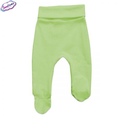 Бебешки ританки широк ластик в зелено