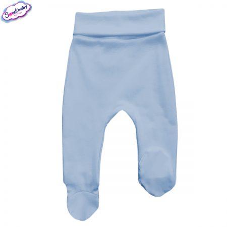 Бебешки ританки широк ластик в синьо