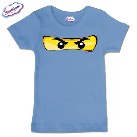 Детска тениска в синьо Маска Лего