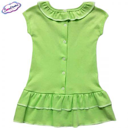 Детска рокличка с копченца гръб