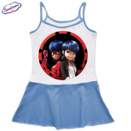 Детска рокличка с тънки презрамки Lady Bug