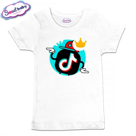Детска тениска TikTok с корона