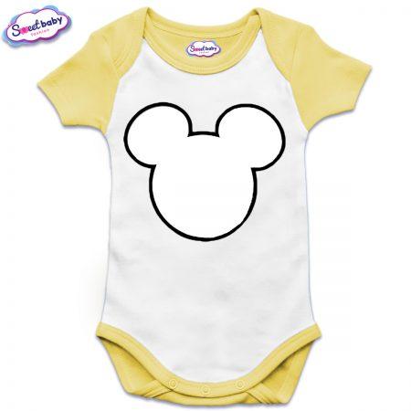 US бебешко боди в жълто Maus