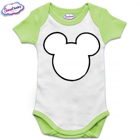 US бебешко боди в зелено Maus