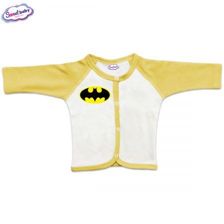 Бебешка жилетка с предно закопчаване Батман