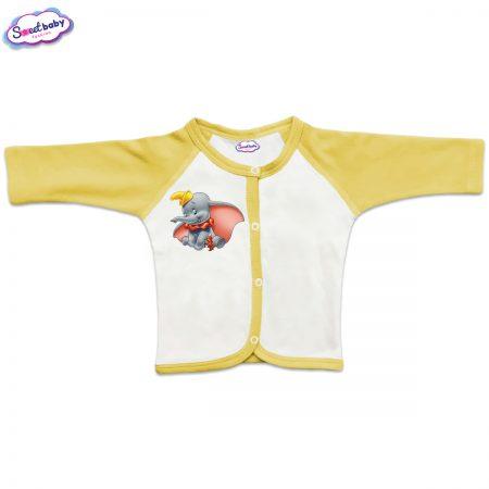 Бебешка жилетка с предно закопчаване Дъмбо