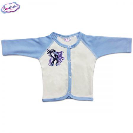Бебешка жилетка с предно закопчаване Пони