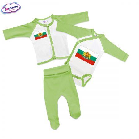 Бебешки сет Българско знаме