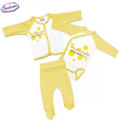 Бебешки сет в жълто ALL INCLUSIVE