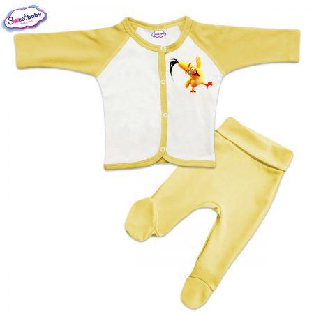 Бебешки сет в жълто Angry Birds Chuck